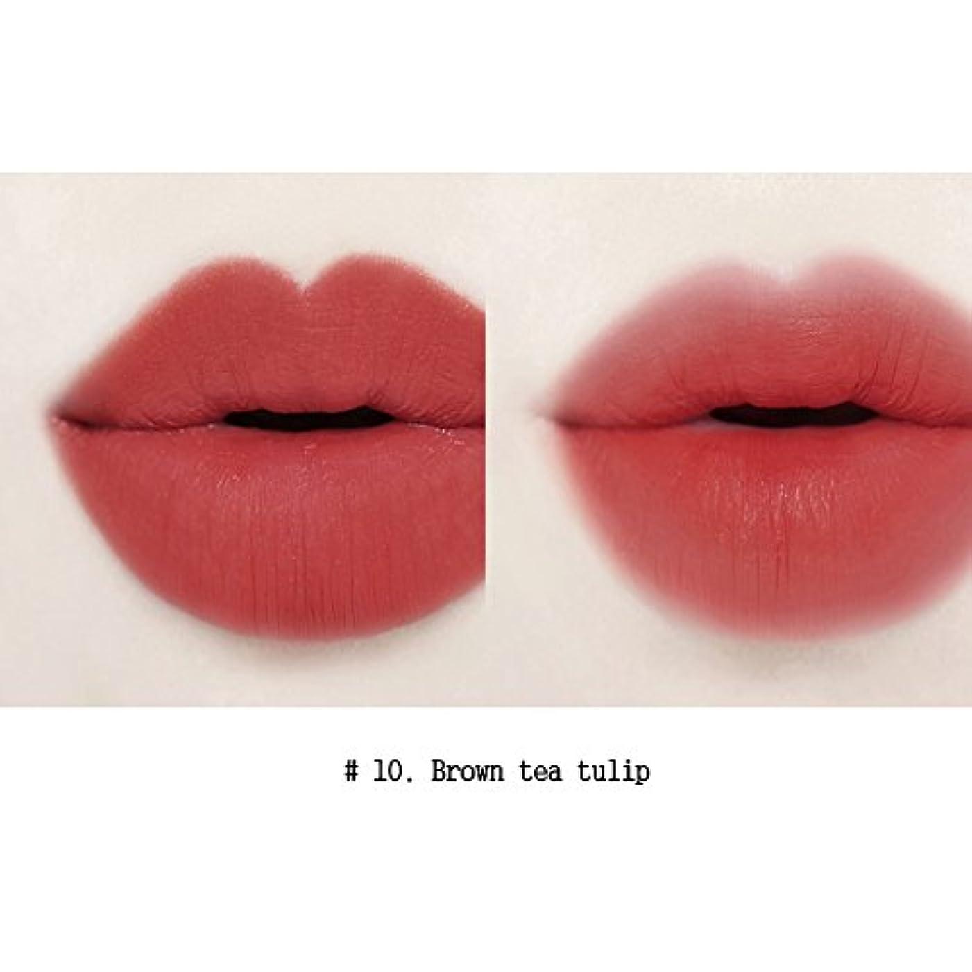 パドルアイロニー説明イニスフリービビッドコットンインクティント4g Innisfree Vivid Cotton Ink Tint 4g [海外直送品][並行輸入品] (#10. Brown tea tulips)