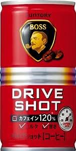 サントリー コーヒー ボス ドライブショット 185g×30本