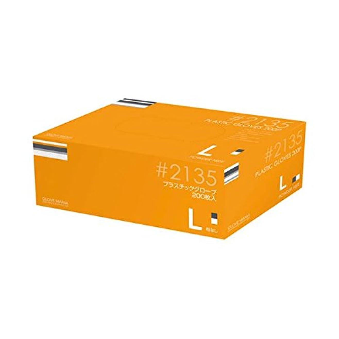 川西工業 プラスチックグローブ #2135 L 粉なし 15箱 ダイエット 健康 衛生用品 その他の衛生用品 14067381 [並行輸入品]