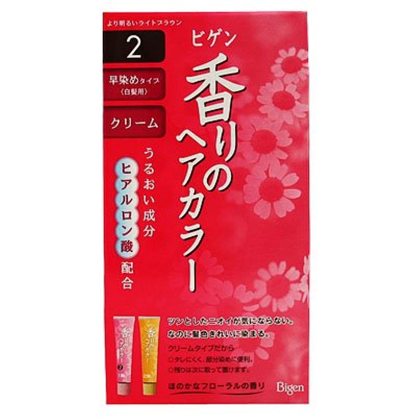 抑止するリーチドラッグビゲン香りヘアカラークリーム2 40G+40G [ヘルスケア&ケア用品]