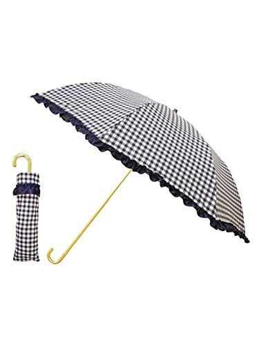 (ピンクトリック) pink trick 折りたたみ 傘 晴雨兼用 UVカット 【82108】ネイビー