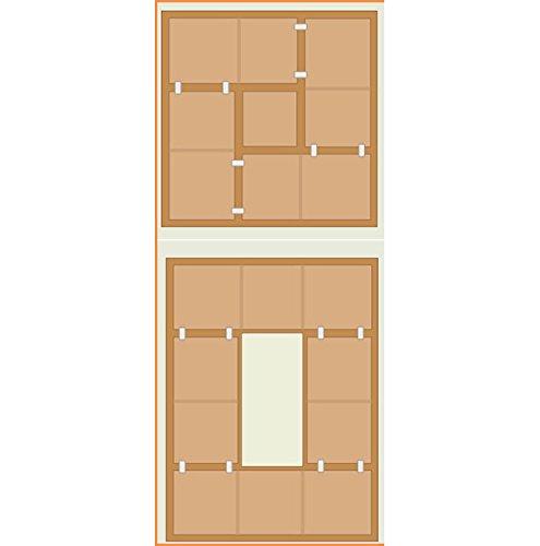 21)畳ユニットボックス Aセット・ハイタイプ・180×180cm・ナチュラル TY-HA-NA 収納
