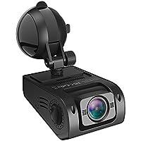 ドライブレコーダー VAVA 車載カメラ 高解像度1080P 30fps 160度広角レンズ WDR逆行補正 暗視機能ループ録画 デュアルUSB 充電チャージャー付 VA-CD008
