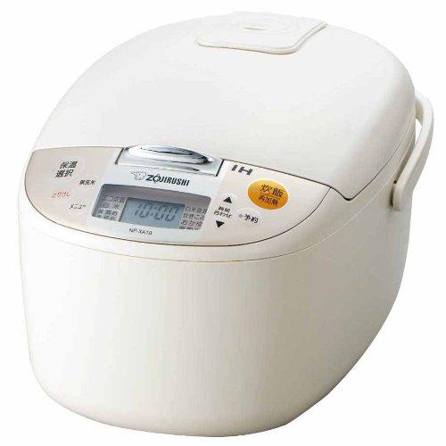 象印 炊飯器 IH式 1升 ライトベージュ NP-XA18-CL