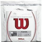 Wilson Champions Choice Duo Tennis String, Natural