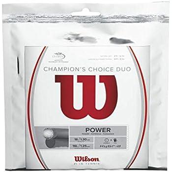 Wilson(ウイルソン) テニス ストリング ガット CHAMPION'S CHOICE DUO (チャンピオンズチョイスデュオ) [ハイブリッド] WRZ997900