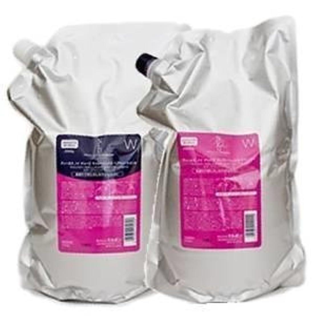 ハンバーガー粘土重要ミルボン ディーセス ノイ ドゥーエ ウィローリュクス シャンプー&トリートメント W 1000ml,1000g 業務用詰替えパックまとめ買いセット