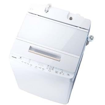 東芝 DDインバーター洗濯機 全自動 ZABOON 10kg グランホワイト AW-10SD6 W