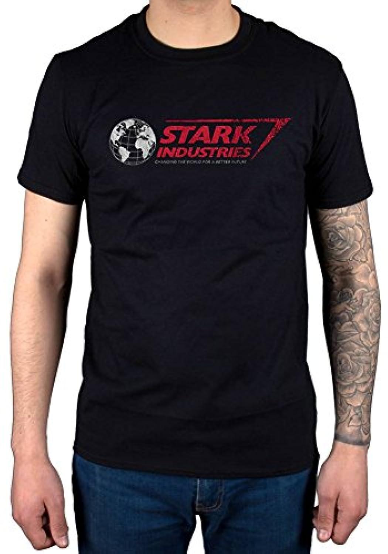 Official Marvel Comics Stark Industries T-Shirt Comic Book Captain America Superhero