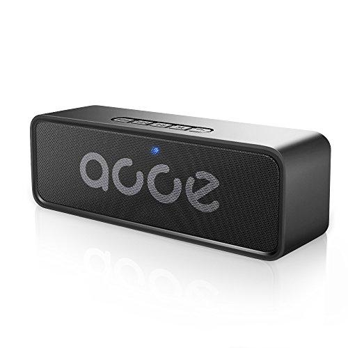 AOOE音質核心版ポータブルBluetooth4.2スピーカ...