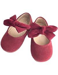 [Dream-studio] ドリームスタジオ フォーマル 靴 スウェード ベビー シューズ リボン