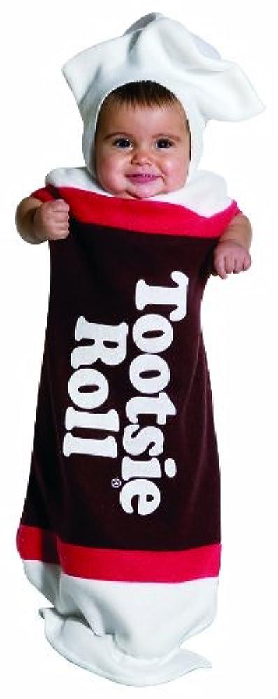 パキスタン好色な有力者Tootsie Roll Baby Bunting Infant Costume トッツィーロールベビーバンティングの幼児のコスチューム サイズ:Infant(3-9months)