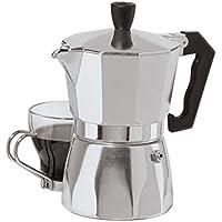 Oggi 6570.0 3 Cup Cast Aluminum Stovetop Espresso Maker, Silver by Oggi