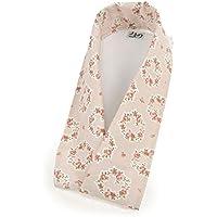 【売りつくしSALE】 よきもの倶楽部 替衿 花の輪 ピンク