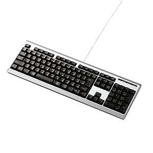 ELECOM USBフルキーボード TK-U08FYSV