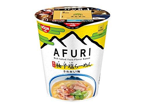 人気ラーメン店 AFURI の限定柚子塩らーめん カップヌードル
