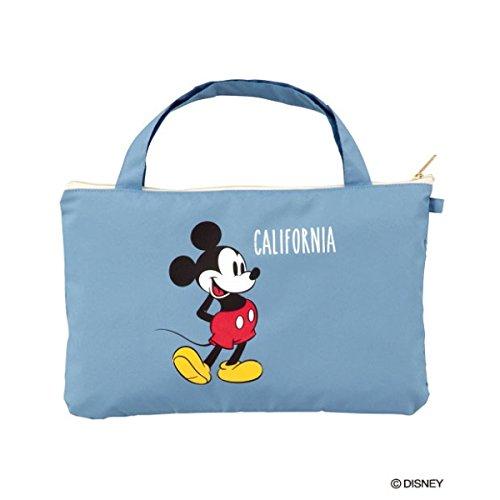 w.p.c(w.p.c) 【折りたたみ傘】【ディズニー】ミッキーマウス/スタンディングmini(雨傘/レディース)【ブルー/50】