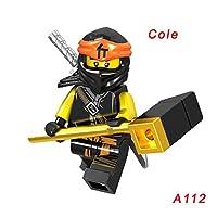 Legoinglys Ninjagoing ビルディングブロックヘビゼーンにゃロイド Nuckal Chokun 蛇スケルトン骨兵士 Legoing Ninjagoesd レンガ