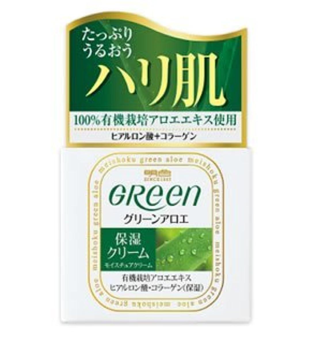 それに応じて何もない方程式(明色)グリーン モイスチュアクリーム 48g(お買い得3個セット)