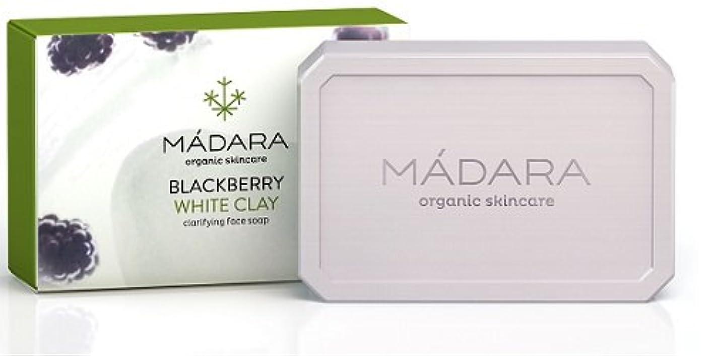 種類分散収穫マダラ クラリファイング フェイスソープ ブラックベリー&クレイ 70g