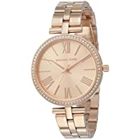 Michael Kors Women's MK3904 Analog Quartz Rose Gold Watch