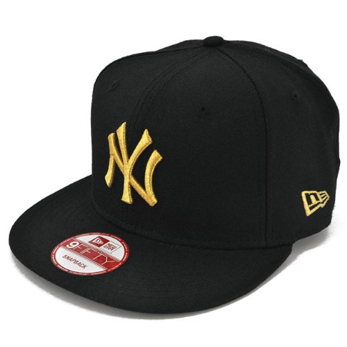 NEW ERA ニューエラ NEWERA 9FIFTY SNAPBACK YANKEES(MLB) BLACK/GOLD 11308473 ニューエラ 9フィフティー スナップバック ニューヨーク・ヤンキース ブラック/ゴールド
