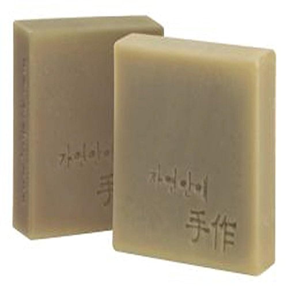 掻くコンパクトダニNatural organic 有機天然ソープ 固形 無添加 洗顔せっけんクレンジング 石鹸 [並行輸入品] (清州)