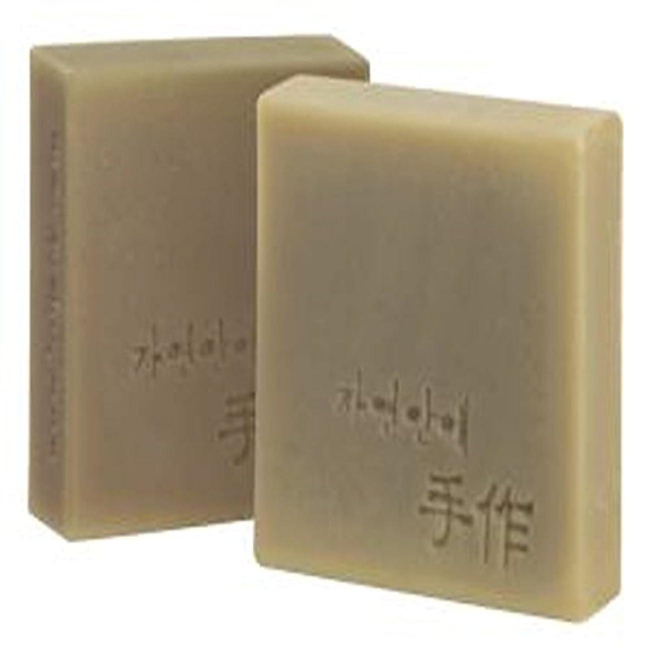 独立何かアロングNatural organic 有機天然ソープ 固形 無添加 洗顔せっけんクレンジング 石鹸 [並行輸入品] (清州)