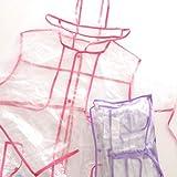 トレンチコート風 クリアレインコート CLC-03/07 Sサイズ ☆2色 定価1500円