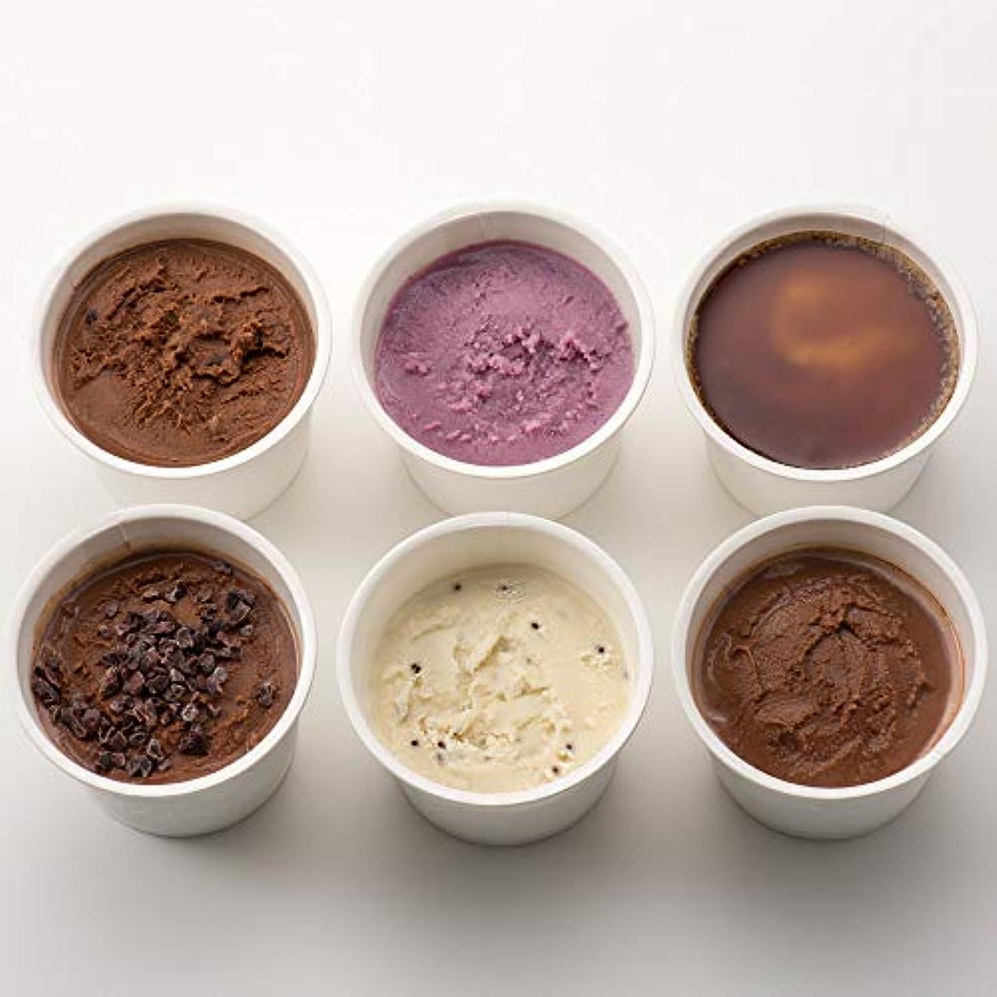言い換えるとルアー有益なK and Son's 植物性100%オーガニック豆乳アイスクリーム 80ml Premium 6カップセット (プレミアムアソート)