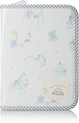 [ジェラート ピケ] アニマルパーク柄母子手帳ケース PWGG181654 86 BLU