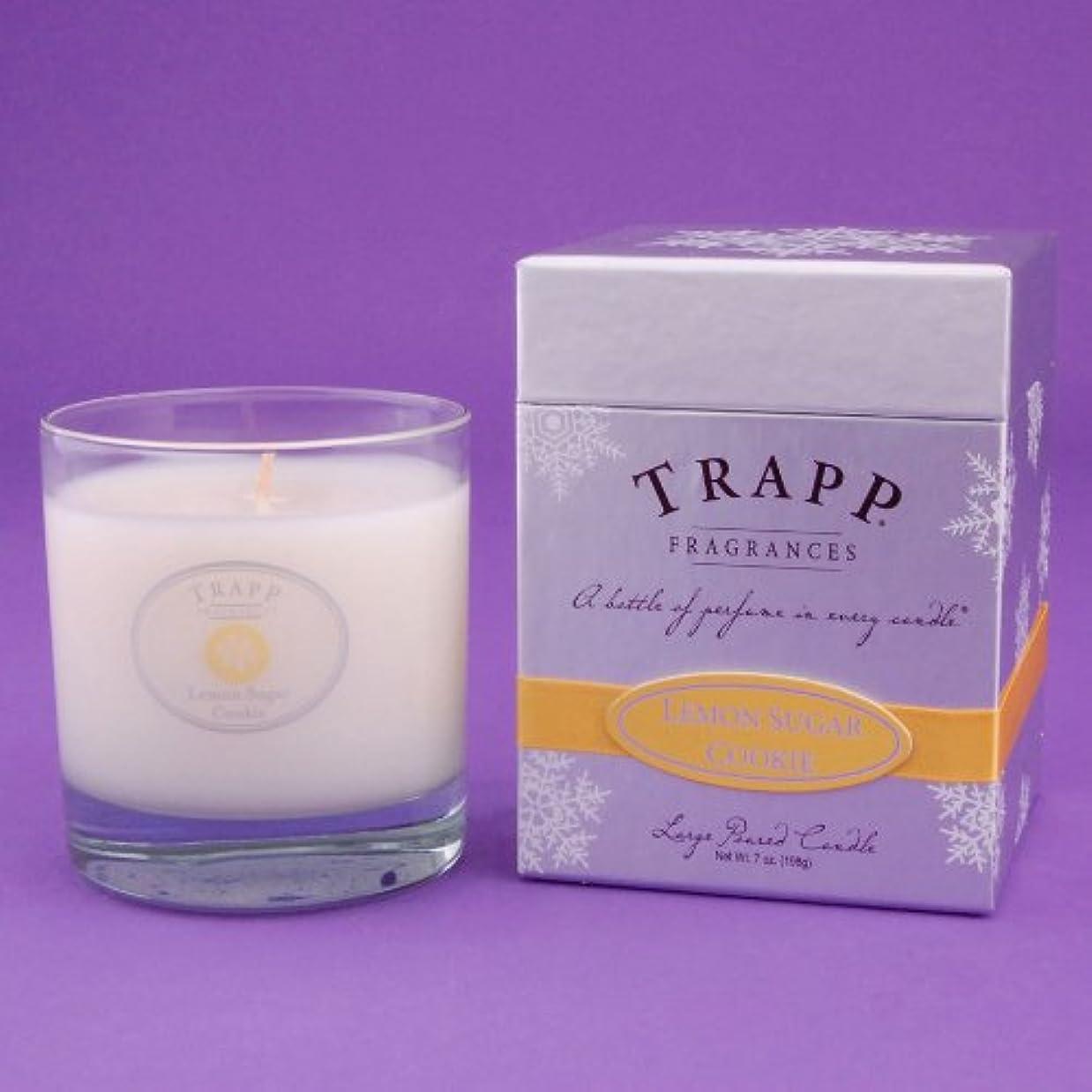 立ち寄るピークハードリングTrapp Lemon Sugar Cookie 7oz. Scented Candle by Trapp