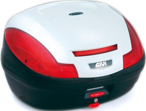GIVI(ジビ)【イタリアブランド】 モノロックケース(トップケース/リアボックス) パールホワイト E470B906D 68056 高性能&スタイリッシュデザイン