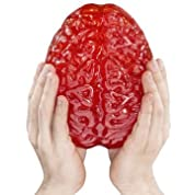 巨大グミ 脳ミソ 総重量1.8kg !! フルーツポンチ味 [並行輸入品]