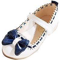 Gaorui Girls' Princess Shoes Mary Jane Bow Knot Dress Ballet Dance Wedding