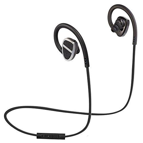 NexGadget iphone7 対応 Bluetooth 4.1 イヤホン Bluetooth aptX 高音質 超小型 軽量 防塵防水 マイク内蔵 ハンズフリー通話 防汗防滴 スポーツ仕様 BSH-H902 ブラック