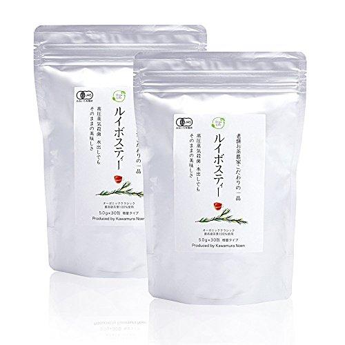 有機栽培 ルイボスティー オーガニック ティーバッグ クラシック 5g × 60包 ( 30包 x 2袋 )