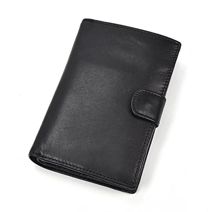 消去腸パイ財布 本革 手帳式 ラウンドファスナー 縦式 二つ折り レトロ 大容量 13カード入れ 小銭収納 お札入れ 携帯収納 ハンドメイド