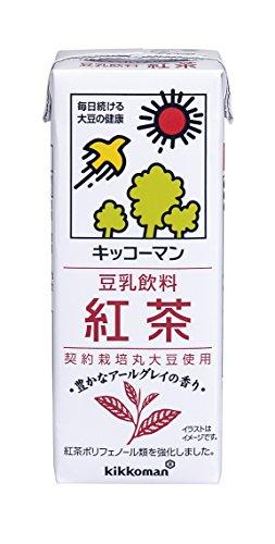 キッコーマン飲料 豆乳飲料 紅茶 200ml×18本