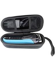 ハードポータブル旅行用ケースブラウン シリーズ3 メンズ電気シェーバー 3040s 3020s-VIVENS