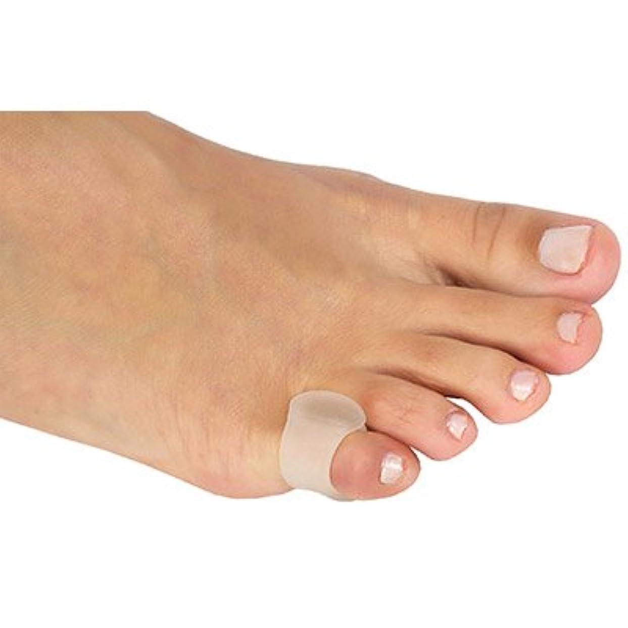 休憩する他の場所焼く内反小趾用足指スペーサー(P26-M)(サイズM)
