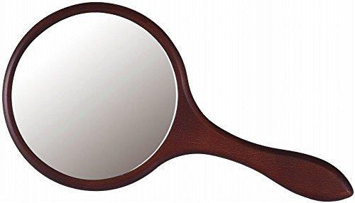 塩川光明堂 手鏡 ハンドミラーDB 幅160×奥行13×高さ315mm B0045 1個