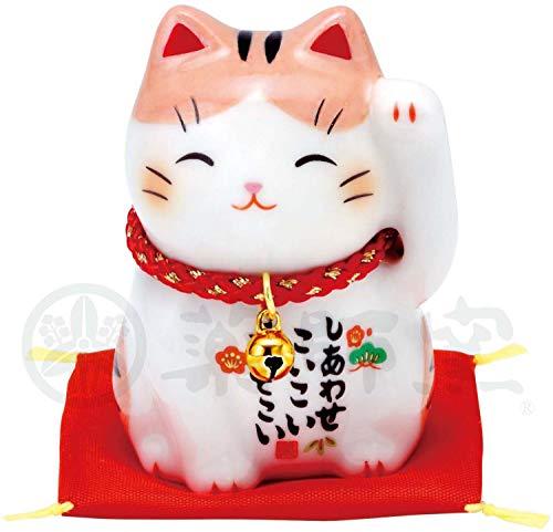 彩絵福招き猫(茶とら) AM-Y7535