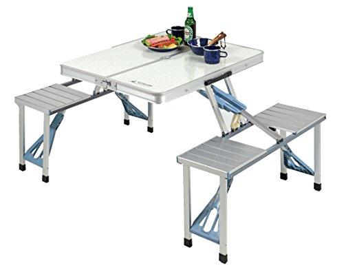 キャプテンスタッグ ラフォーレ DXアルミピクニックテーブル