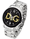 Dolce&Gabbana (ドルチェ&ガッバーナ)  D&G ドルガバ メンズ 腕時計 Sestriere(セストリール) シルバー DW0703 [並行輸入品]