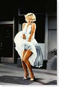 マリリンモンローポスター Marilyn Monroe in 'The Seven Year Itch'