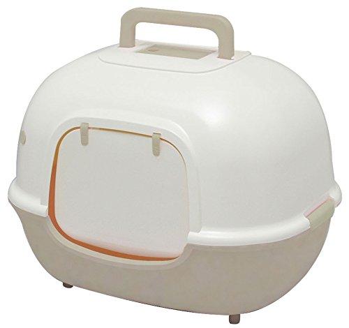 アイリスオーヤマ 脱臭ワイド猫トイレ WNT-510 ミルキーブラウン