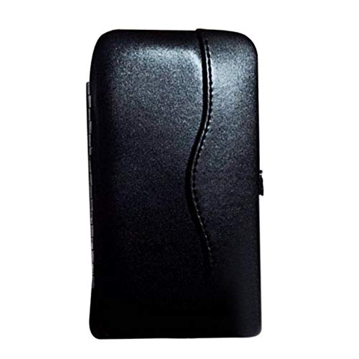 検査やさしく仲人wijaso まつげエクステンションピンセットポータブルツールバッグ用の信頼性の高い美しい新プロメークアップツールストレージボックス(None BK)