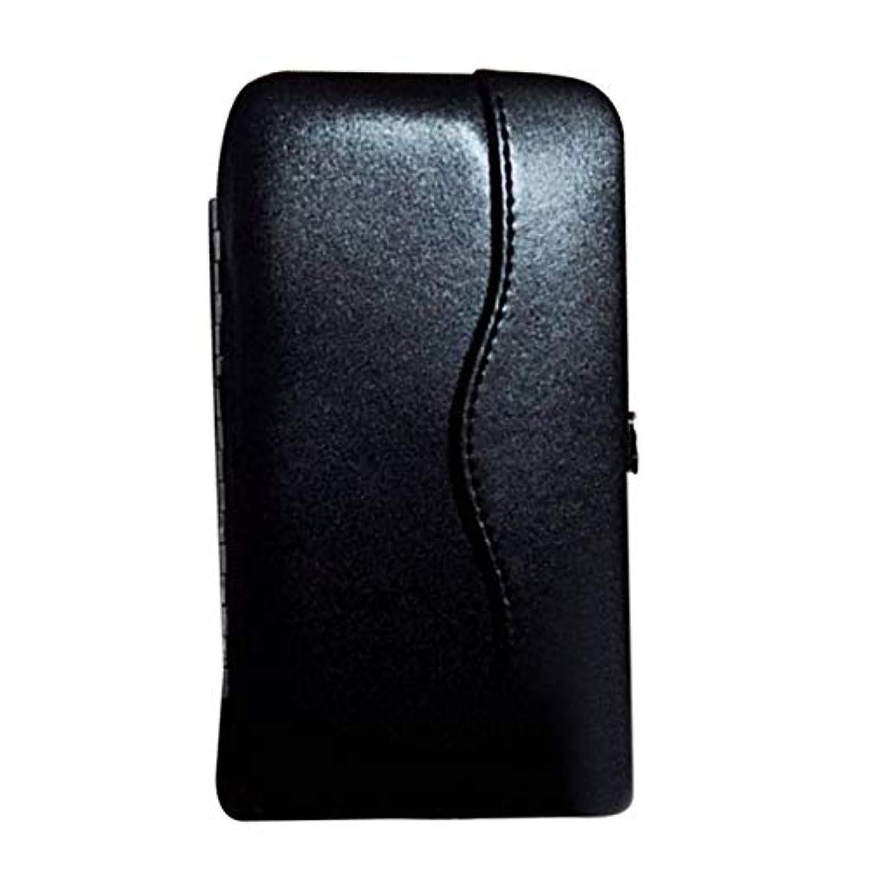 人物精神重々しいwijaso まつげエクステンションピンセットポータブルツールバッグ用の信頼性の高い美しい新プロメークアップツールストレージボックス(None BK)