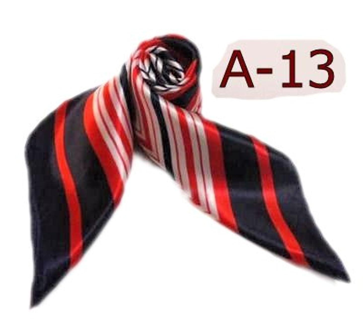 間違いまたはどちらかファンドシルク調スカーフ?企業制服スカーフ?60cm角 2012春 スカーフ(全10色)?中国雑貨 (A-13)